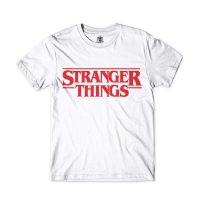 camiseta blanca logo Stranger Things