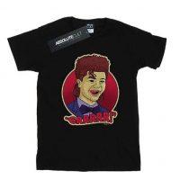 Camiseta Dustin negra GRRRR