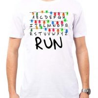 Camiseta RUN color blanco para hombre