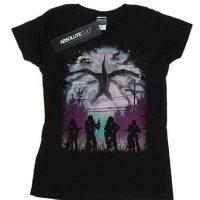 Camiseta mujer Stranger Things fan art