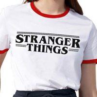 Camiseta manga corta para mujer de Stranger Things