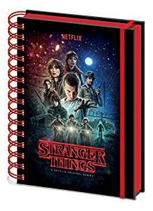 Cuaderno de notas Stranger Things