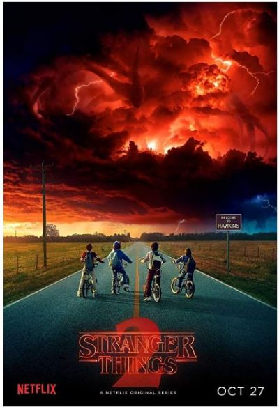 Póster Welcome to Hawkins Stranger Things