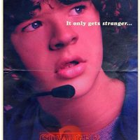 Póster cine Dustin temporada 2 Stranger Things