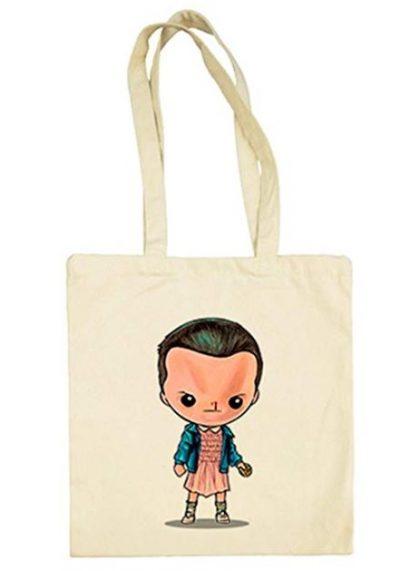 Bolsa con dibujo de Eleven.