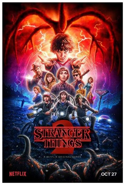 póster Stranger Things 2