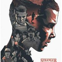 póster personajes Stranger Things