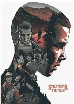 póster personajes Stranger Things