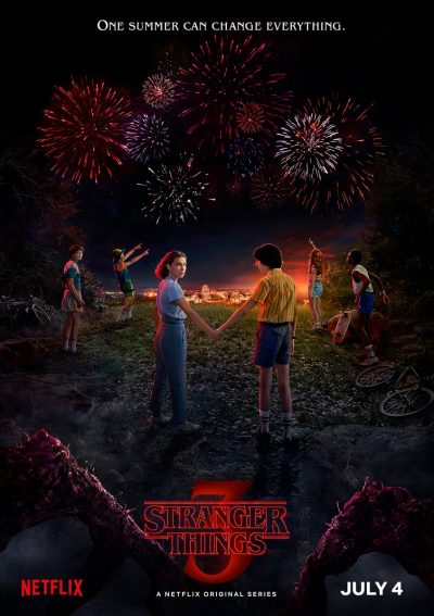 póster niños Stranger Things