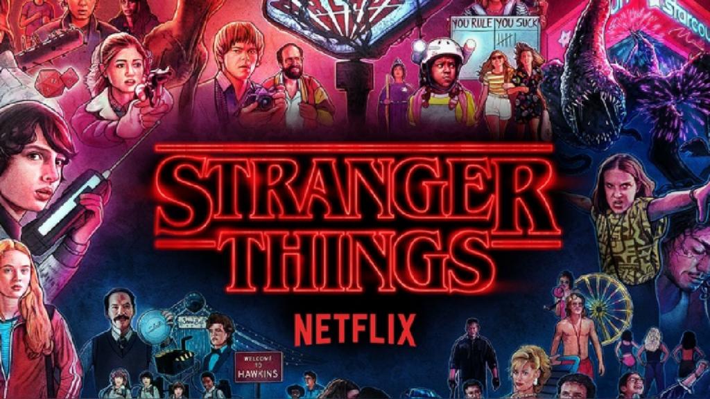 Póster tercera temporada Stranger Things