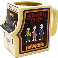taza con forma de Arcade de los niños de Stranger Things